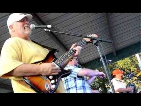 Jo El Sonnier & Band Rocking The End Of Johnny B Goode at Festivals Acadiens et Creole 2012