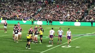 30 September NRL GRAND FINAL 2018 ROOSTERS VS STORM