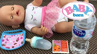 Feeding Baby Born Doll Baby Alive Doll Juice Packet
