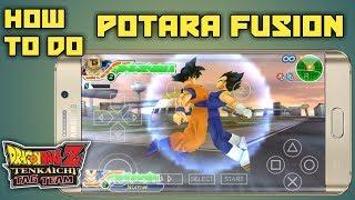 How to do POTARA FUSION in Dragon Ball Z Tenkaichi Tag Team