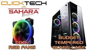 Sahara P35 Case and Pirate Turbo RGB Fans :: 2 Reviews in 1