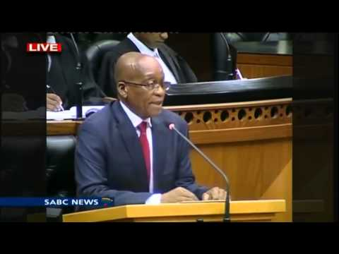Julius and EFF vs Zuma and Nkandla in Parliament 2014