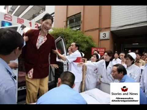 world tallest woman dies yao defen tribute youtube