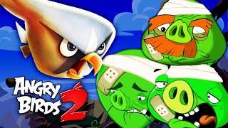 Фото ЗЛЫЕ ПТИЧКИ ПРОТИВ БОССОВ в ПАНИКЕ КОРОЛЯ СВИНЕЙ! Игра Angry Birds 2