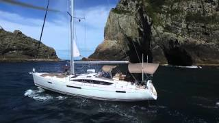 Sailing around Bay of Islands, New Zealand