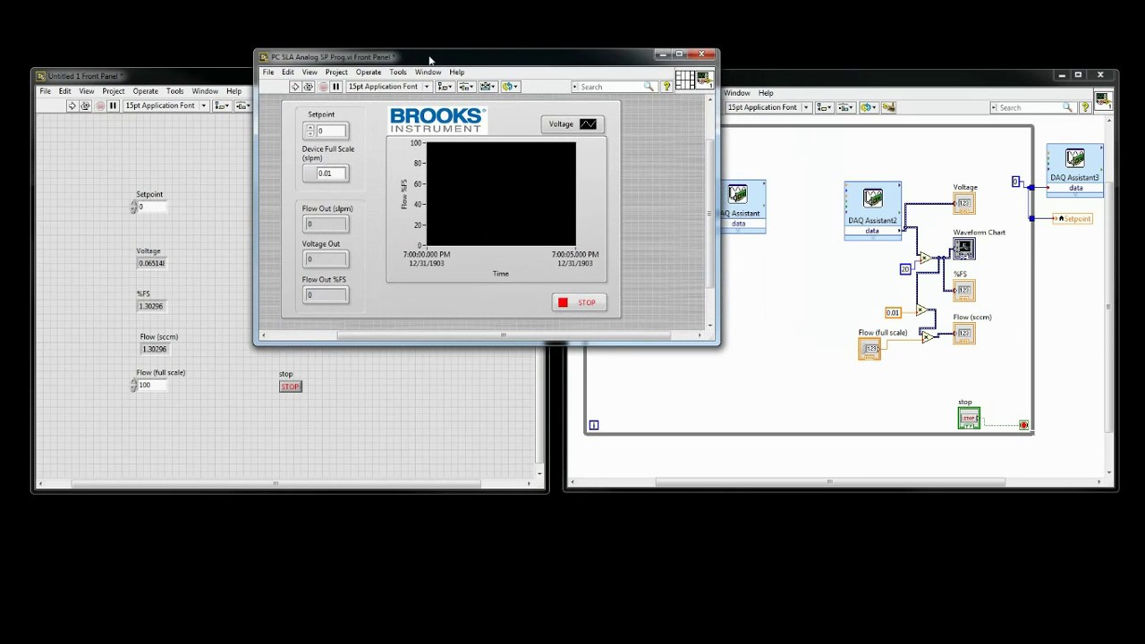 Brooks LabVIEW™ DLL | Brooks Instrument
