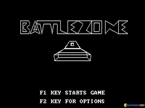 Battlezone (1980) gameplay (PC Game, 1980)