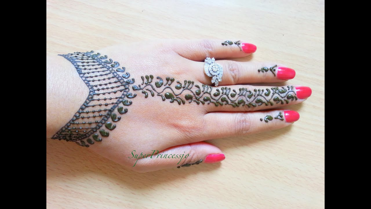 How To Learn Mehndi Designs On Hands At Home In Hindi ...