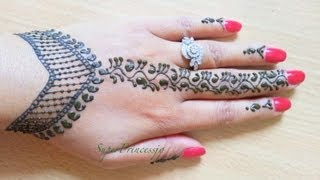 How To Make Henna Mehendi Designs ,Learn Henna ,Lesson1