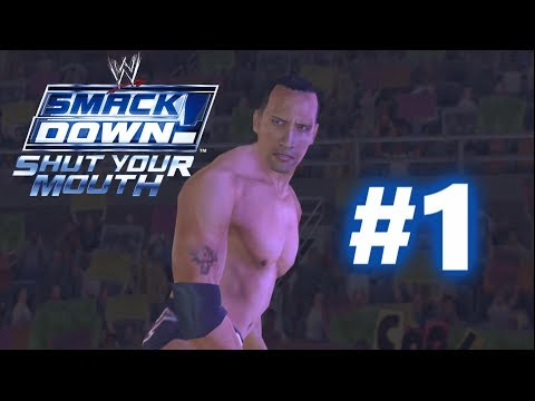 WWE SmackDown! Shut Your Mouth: Season Mode Part 1