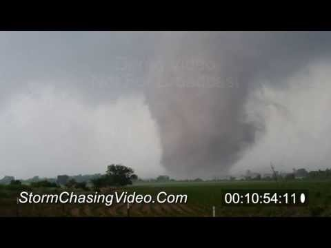 5/19/2013 Luther And Shawnee, OK Tornado B-Roll Stock Footage