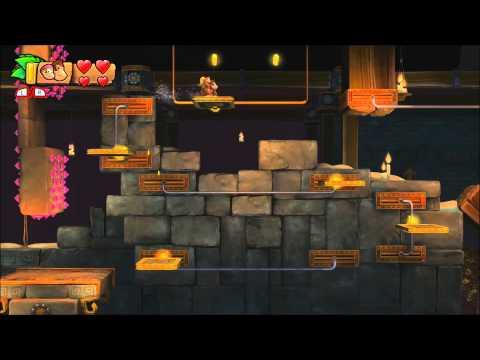 Donkey Kong Country: Tropical Freeze - 100% Walkthrough - 5-K Platform Problems (Puzzle Pieces)