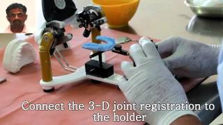 Facebow transfer, Lab Mounting on Semi- adjustable articulator and splint fabrication explained(, 2015-02-20T10:07:02.000Z)