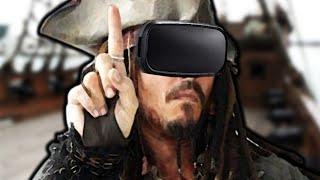 Jack Sparrow pokochałby tę mapę VR... (Blade&Sorcery VR)