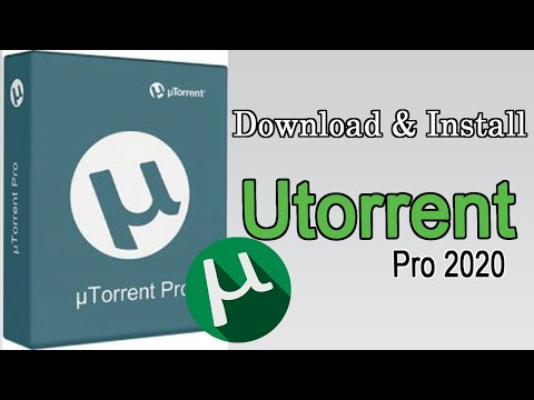 How To Free Download And Install Utorrent Pro 2020 For PC