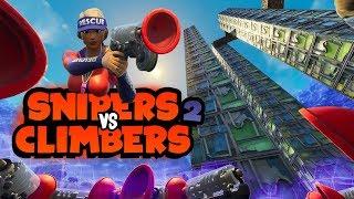 SNIPER VS CLIMBERS 2 - Fortnite Mini-Game met Don, Duncan & Jeremy