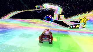 [MKW Former WR] Rainbow Road - 2:24.958 - ☆Bob