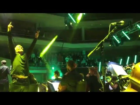 Hacienda Classical ,Bez,Voodoo Ray , Bridgewater Hall ,Manchester ,5/2/16