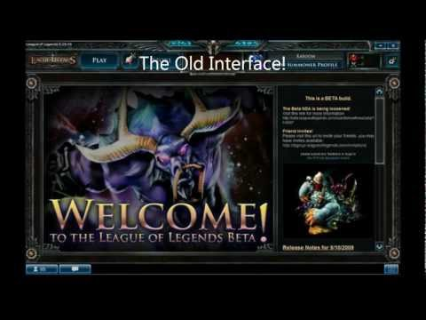 old lol client