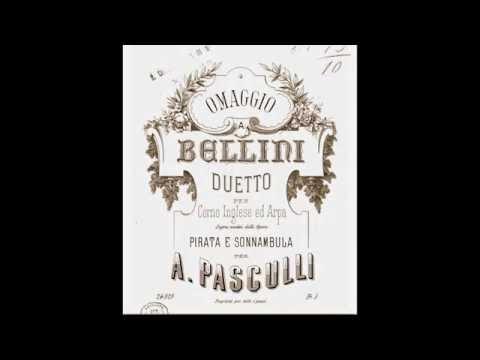 Pasculli - »Omaggio a Bellini« (Omar Zoboli, Giuliana Albisetti)