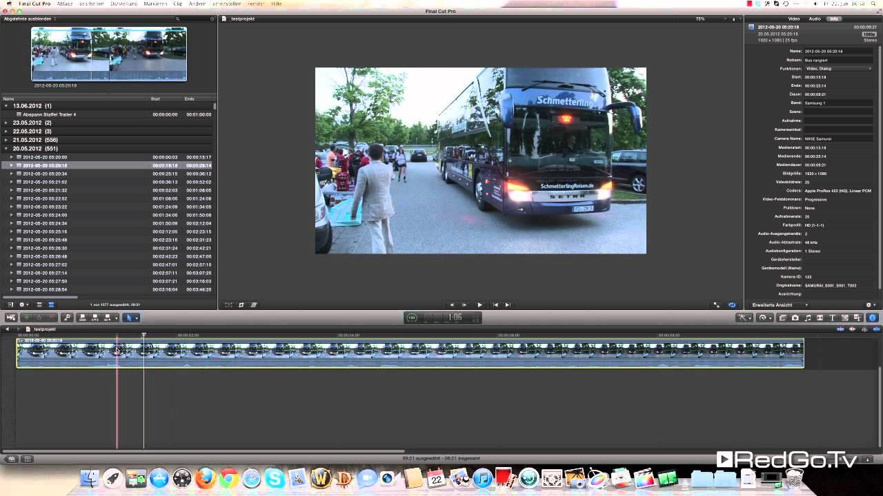 Final Cut Pro X: Automatisches Skalieren von Clips verhindern - YouTube