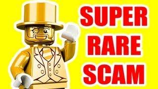 LEGO Mr Gold Super Rare Super Scams Gold Rush Clones & Advice