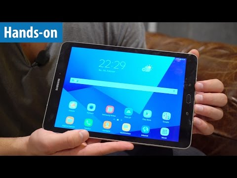 Premium-Tablet: Samsung Galaxy Tab S3 - Hands-on / Erster Test | deutsch / german
