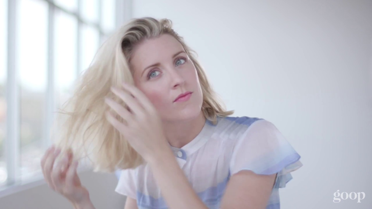 How To Do Undone Bob Hairstyle Goop Youtube