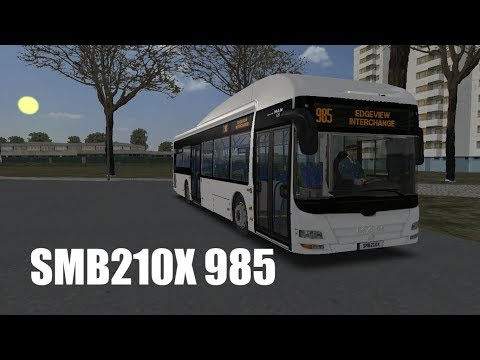 [OMSI 2] SMB210X Woodlands City 985(Edgeview Int to Balmoral Int)
