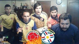 Colombia 1 Paraguay 2 | Eliminatorias Rusia 2018 | Reacción Amigos | El Club de la Ironía
