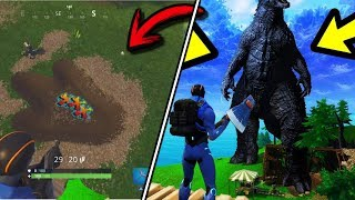 ALL Easter Eggs and SECRET New Zones Added In Season 4 Fortnite Battle Royale
