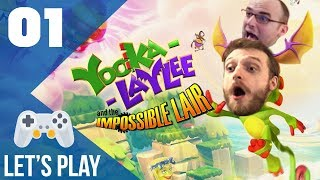 Yooka-Laylee and the Impossible Lair - Let's Play FR #1