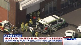 Worker Injured | 9 News Perth