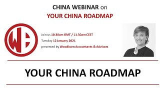 How to design your China Roadmap - Jan 2021