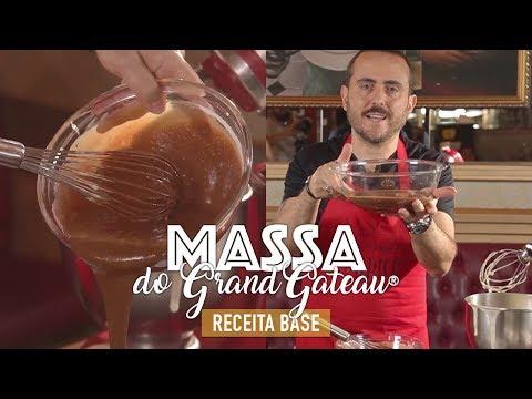 MASSA GRAND GATEAU | RECEITA BASE