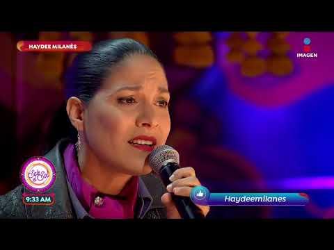 Haydeé Milanés canta 'Te Amo' en el foro | Sale el Sol