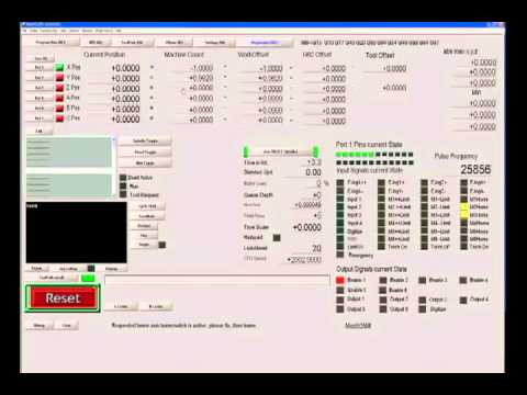 MACH 3 CNC CONTROL SOFTWARE TUTORIAL 5 TROUBLESHOOTING