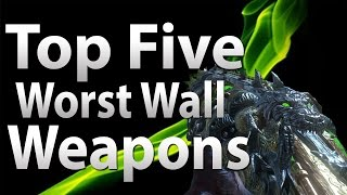 Top 5 Worst Wall Weapons In 'call Of Duty Zombies' - Black Ops 2, Black Ops & Waw