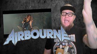 Baixar AIRBOURNE  Backseat Boogie  Reaction