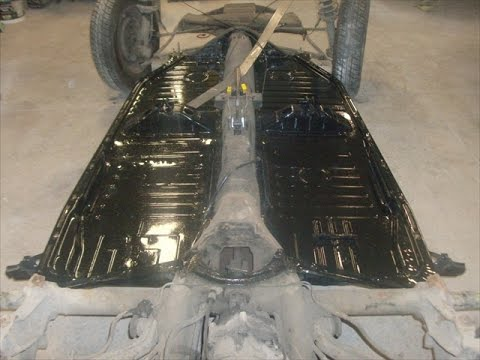 Replace Classic Vw Super Beetle Floorpans By