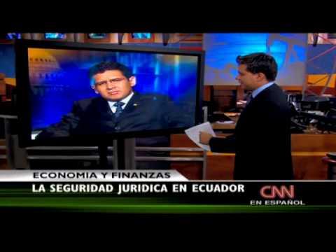 Procurador Diego García Carrión ofreció entrevista a la cadena de noticias CNN