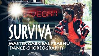 Vivegam - Surviva DANCE CHOREOGRAPHY MASTER GABRIEAL PRABHU