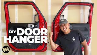 DIY DOOR HANGER for Jeep Wrangler and Gladiator Trucks