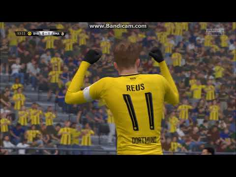 FIFA 17 Borussia Dortmund VS Real Madrid