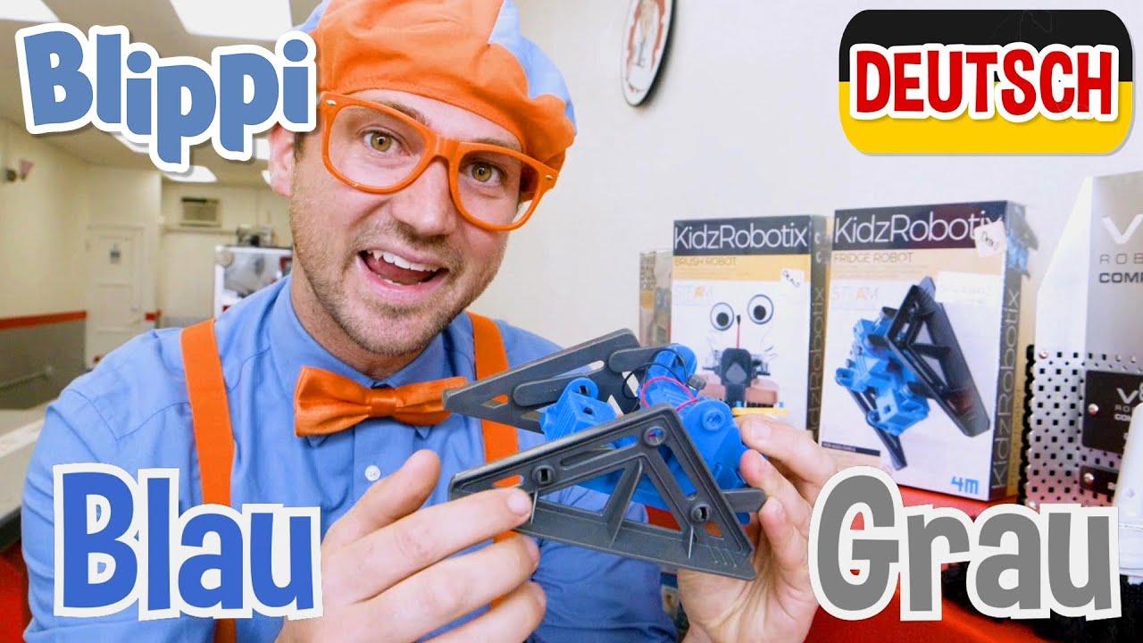 Blippi Deutsch - Rollende Roboter | Abenteuer und Videos für Kinder