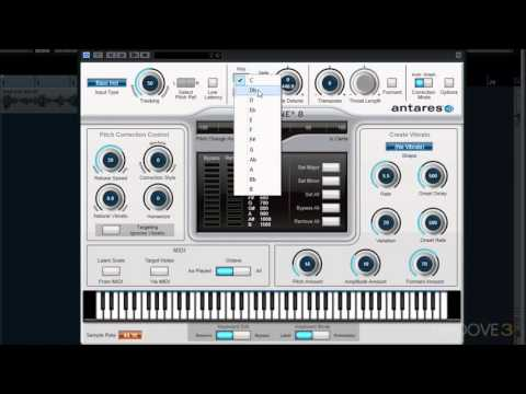 Interface Overview (Auto-Tune 8 Explained)