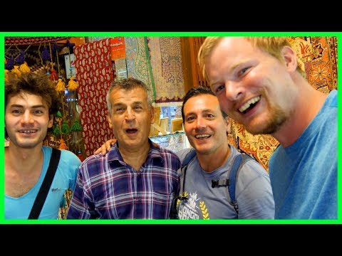 Americans visiting Isfahan, Iran | Day 25 | Mongol Rally 2017