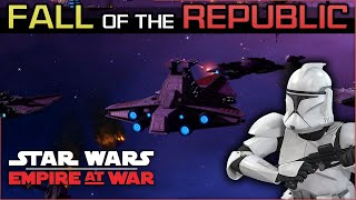 A Bad Day to Be a Jedi [ Republic Ep 17] Fall of the Republic Preview - Empire at War Mod
