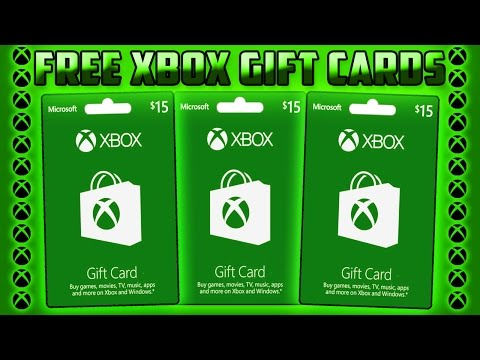HOW TO GET FREE XBOX GIFT CARDS! (FAST AND EASY) Working June 2017