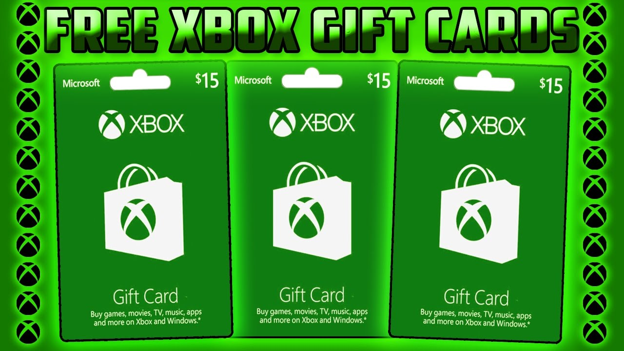 how to get free xbox gift cards fast and easy working september 2017 youtube. Black Bedroom Furniture Sets. Home Design Ideas
